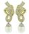 Estate 10.00ct Diamond South Sea Pearl Night and Day Earrings