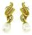 Night and Day Diamond Gold Earrings