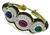 Sapphire Ruby Emerald Diamond Enamel Bangle