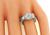 GIA 1.10ct Diamond Engagement Ring and Wedding Band