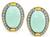 Vintage Hammerman Brothers Turquoise 2.00ct Diamond Earrings