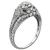 0.50ct Diamond Art Deco Engagement Ring