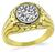 Vintage 1.10ct Diamond Men's Ring