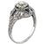 1.26ct Diamond Art Deco Engagement Ring