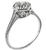 1.85ct Diamond Edwardian Engagement Ring