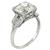 3.03ct Diamond Art Deco Engagement Ring