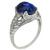 Sapphire Diamond Edwardian Engagement Ring
