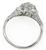 1.12ct Diamond Art Deco Engagement Ring