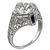 2.52ct Diamond Art Deco Engagement Ring