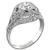 GIA 1.00ct Diamond Art Deco Engagement Ring