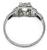 1.00ct Diamond Art Deco Engagement Ring