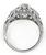 1.13ct Diamond Art Deco Engagement Ring