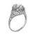 2.16ct Diamond Art Deco Engagement Ring