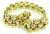 1940s Two Tone Gold Bracelet